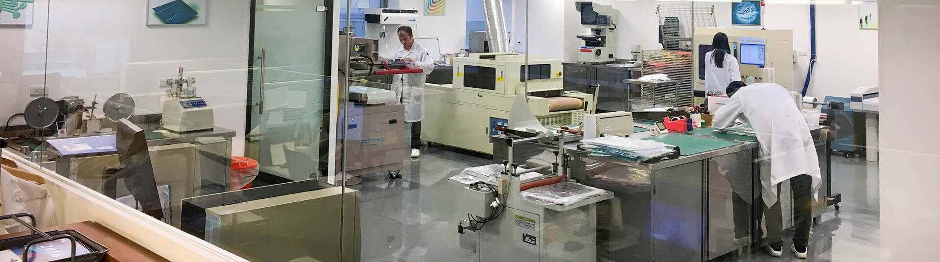 Development Chemists in Our Design Centre in Taipei Taiwan