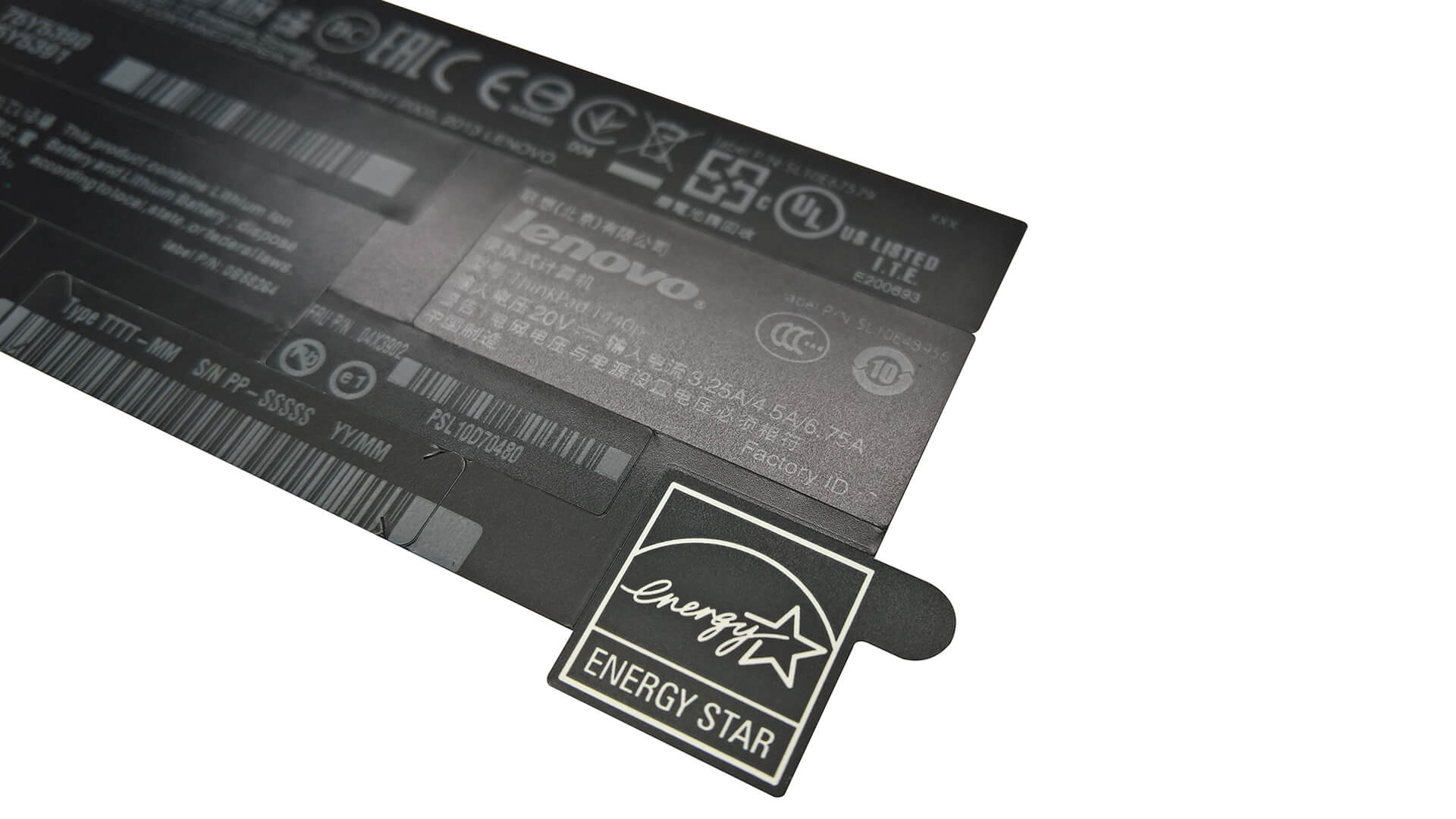Thermal Transfer Compset Labels for Laptop Chassis & Components